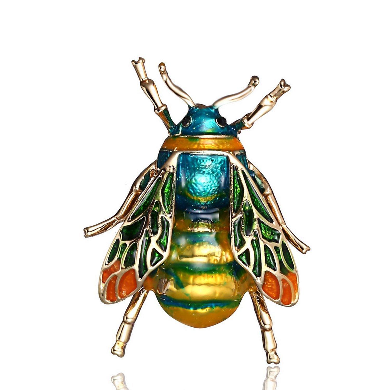 Rinhoo Insect Brooch For Women Kids Girls Bee Jewelry Enamel Brooches Jewelry,2