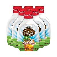 Kelly's Delight: 16 FL OZ (6 Pack) All Natural Pure Cane Liquid Sugar