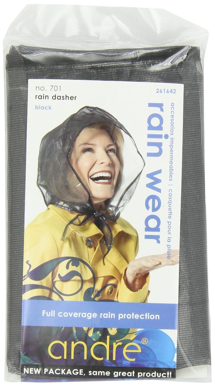 Andre Rain Wear 701 Rain Dasher, Black, One Size Fits All Fromm International 70106
