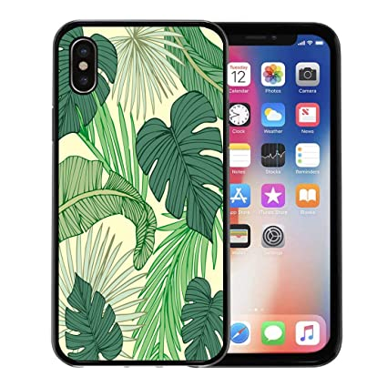 Amazon.com: Emvency - Carcasa para iPhone X, diseño moderno ...