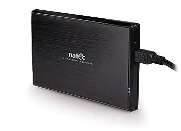 Amazon.com: Natec – Carcasa para 2.5 inch SATA USB 3.0 HDD ...