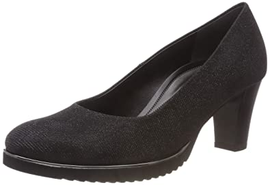 Gabor Shoes Women s Comfort Fashion Closed-Toe Pumps, Black (Schwarz(S.S  aa3aa77bc7