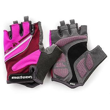 meteor® mujeres - Guantes Bike - Lady LX20, Las almohadillas de gel proporcionan una