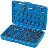 Silverline 633840 Juego de puntas para atornillador, 100 pzas