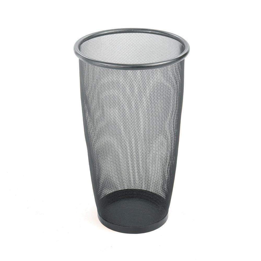Saf9718Blus Wastebasket Mesh Rnd Bk