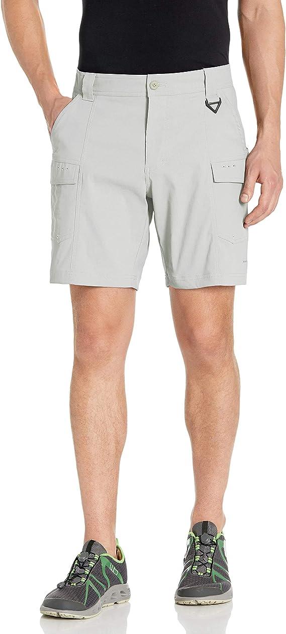 Columbia 哥伦比亚 Low Drag PFG钓鱼系列 防晒防泼水防污 男式户外短裤 S码3折$14.88 海淘转运到手约¥119