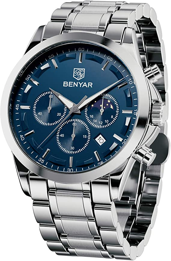 BENYAR - Stylish Wrist Watch for Men