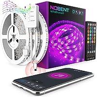 WiFi Tira LED 15M - Nobent 5050 SMD Luces LED Regulable Sync con Música, Tira LED RGB Inteligente Control Remoto por APP…