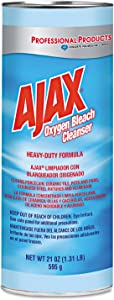 Ajax - Oxygen Bleach Powder Cleanser, 21oz Can - 24/Carton