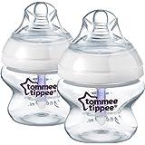 Tommee Tippee Closer To Nature Advanced Comfort Feeding Bottles 2X 150Ml, White Tt42252120,