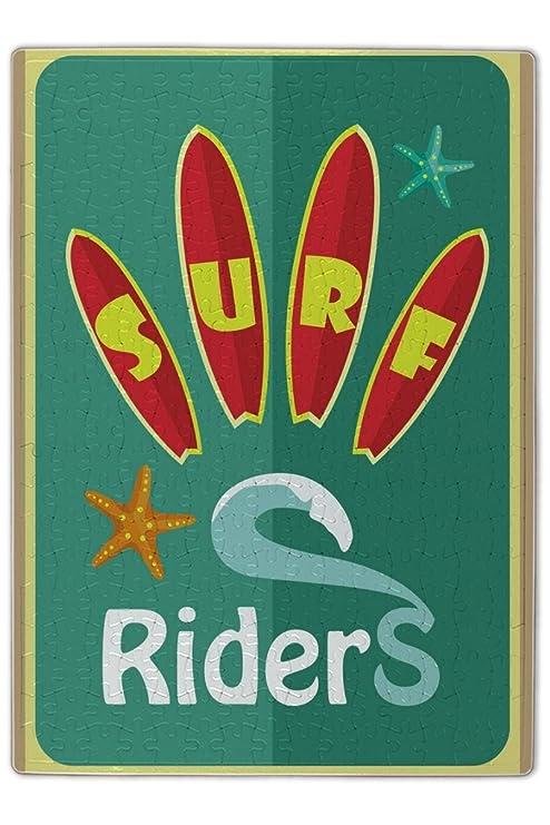 Puzle Deportes Tablas de surf impreso 300 piezes