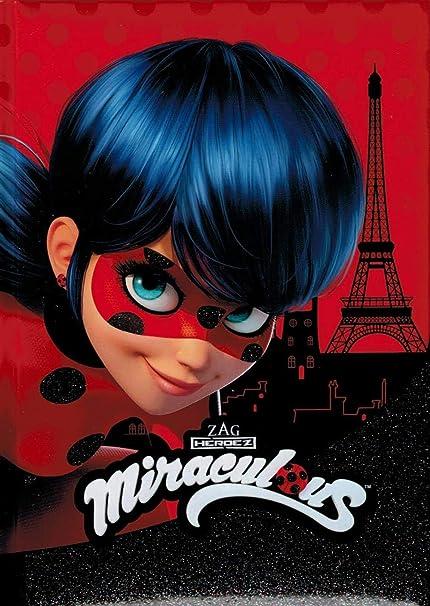 Miraculous 2019/2020 - Agenda escolar, color Ladybug: Amazon ...