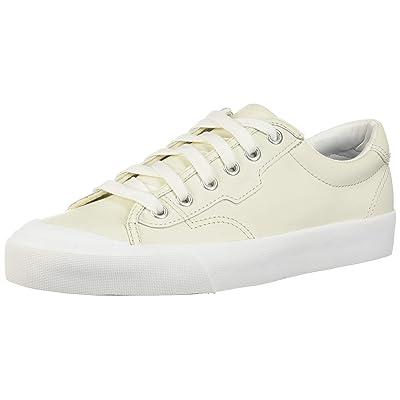 Keds Women's Crew Kick 75 Leather Sneaker, White, 7 B US   Fashion Sneakers