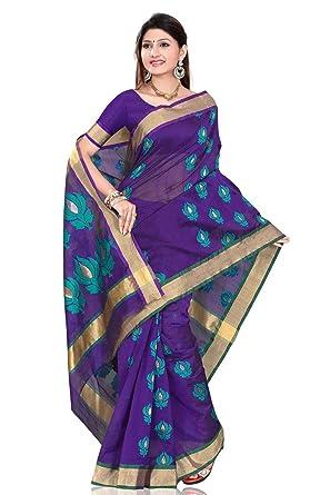 857bb50b84 Amazon.com: Modern Blue designer Sari saree Indian Bellydance fabrc wrap:  Clothing