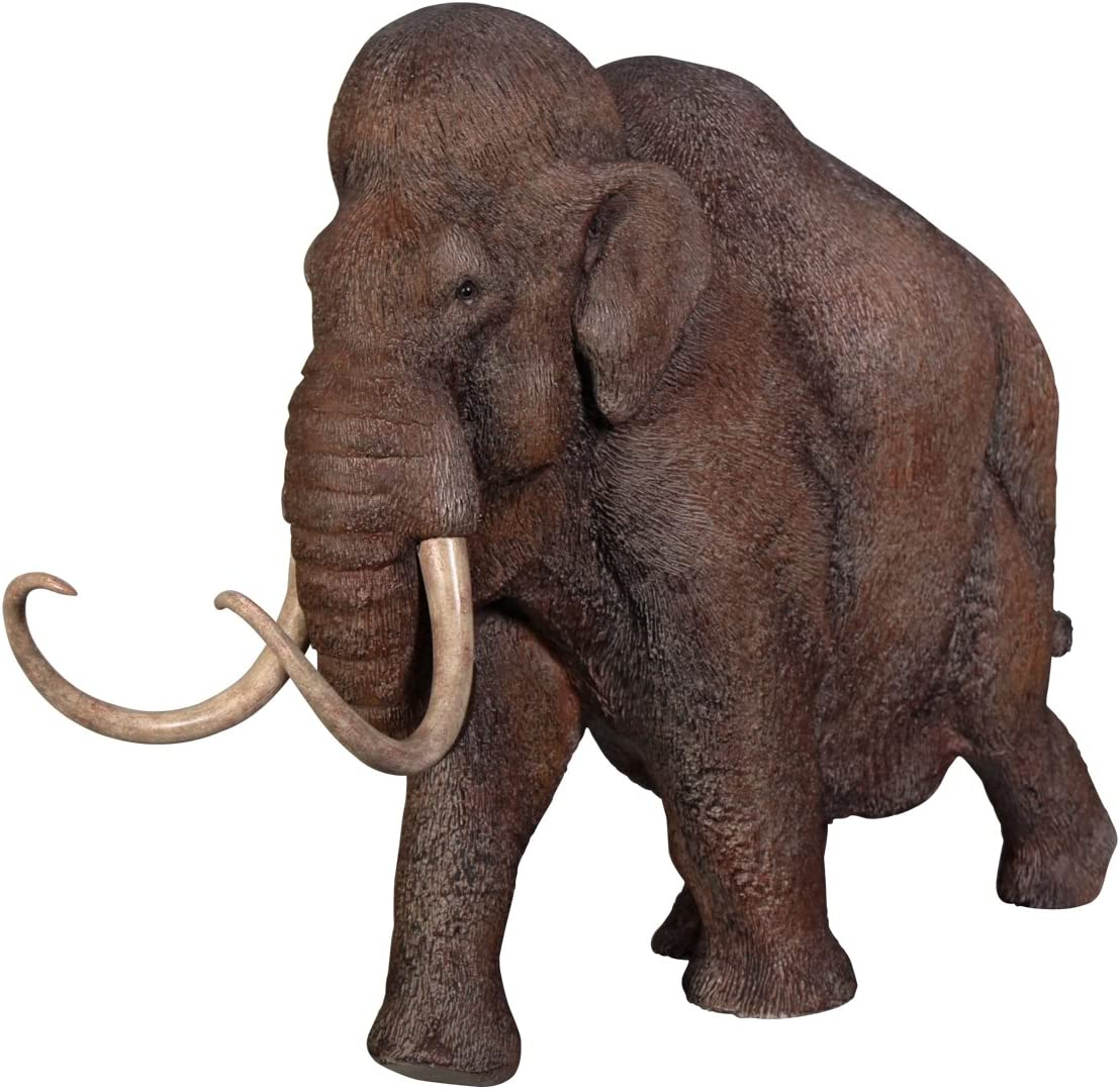Amazon Com Design Toscano Woolly Mammoth Elephant Of The Ice Age Scaled Statue Garden Outdoor