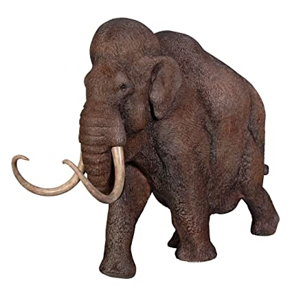 Design Toscano Woolly Mammoth, Elephant of the Ice Age Scaled Statue