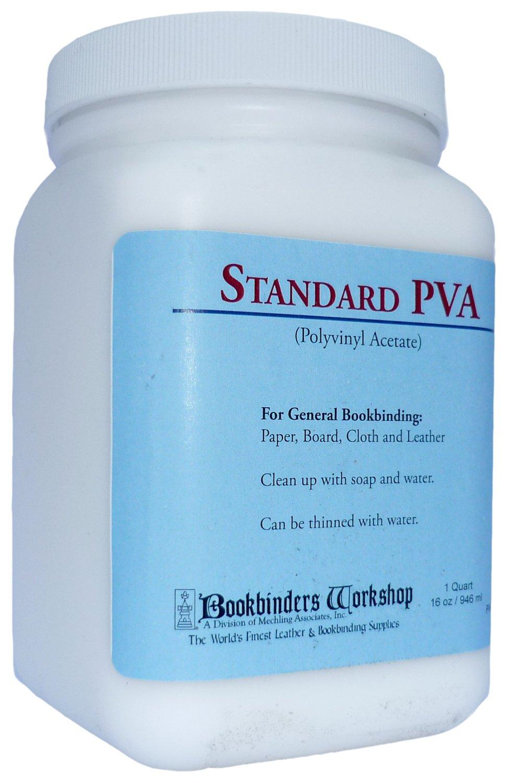 PVA Adhesive Acid-free Quart Bookbinders Workshop PVA01