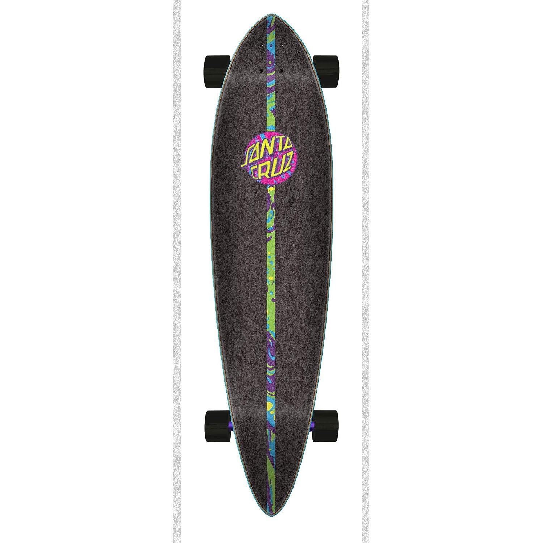 Santa Cruz Multi Spill Dot Pintail 39 Inch Longboard Complete