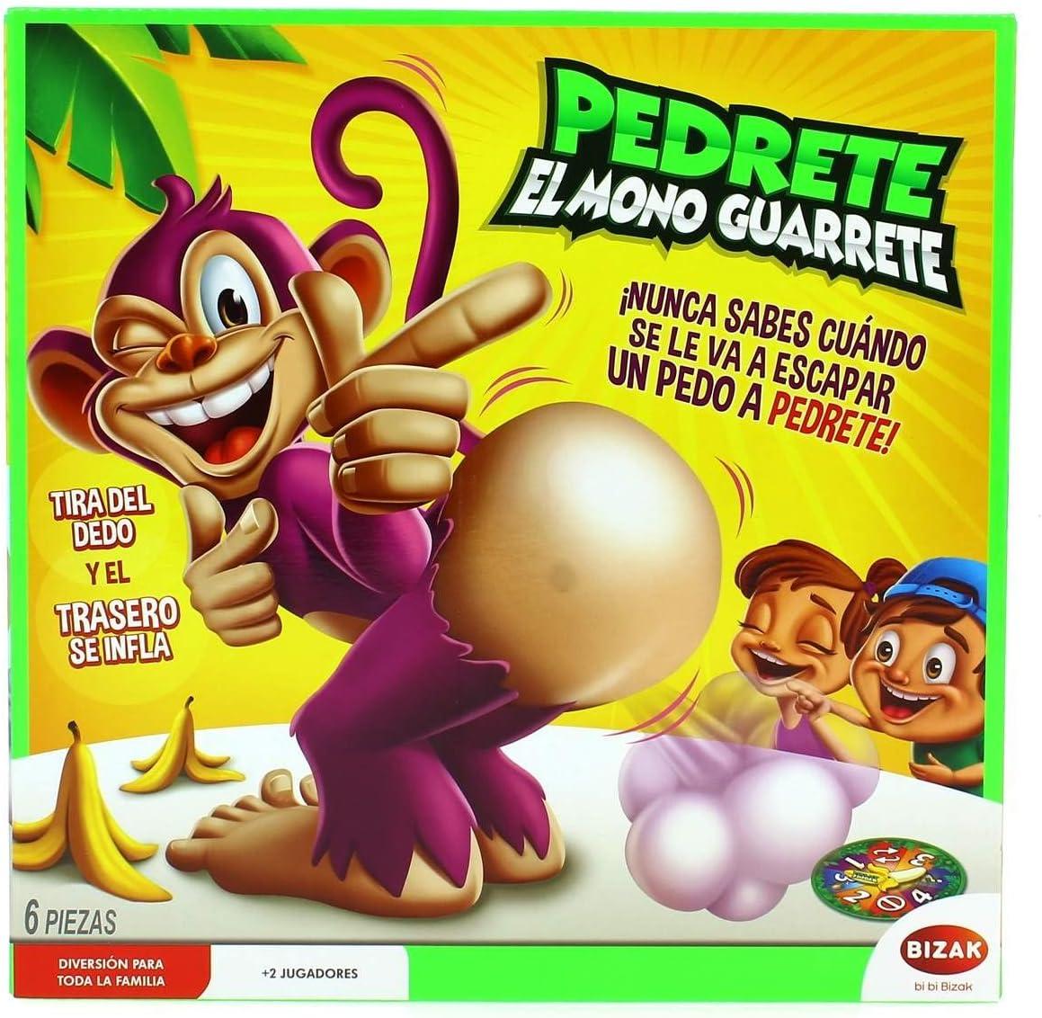 Bizak Pedrete el Mono guarrete: Amazon.es: Juguetes y juegos