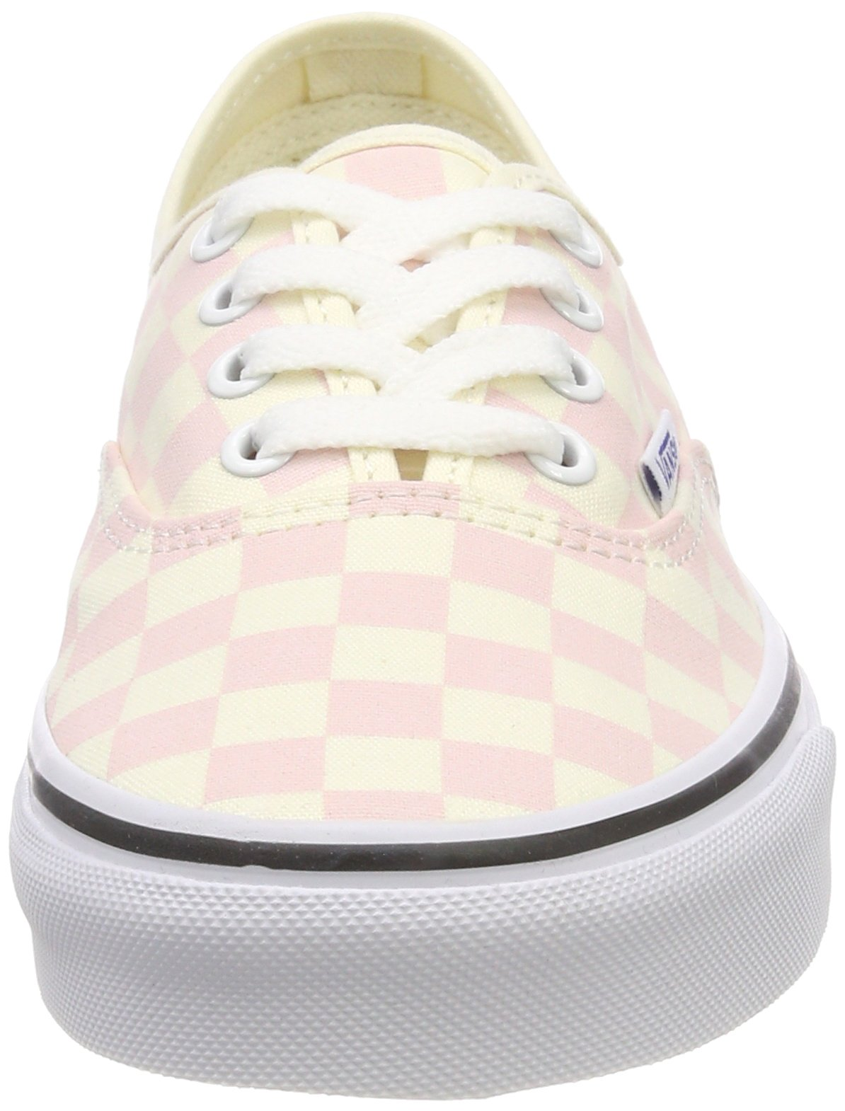 Vans Women's Authentic Trainers, Pink (Checkerboard) Chalk Pink/Classic White Q8l, 5.5 UK 38.5 EU by Vans (Image #4)