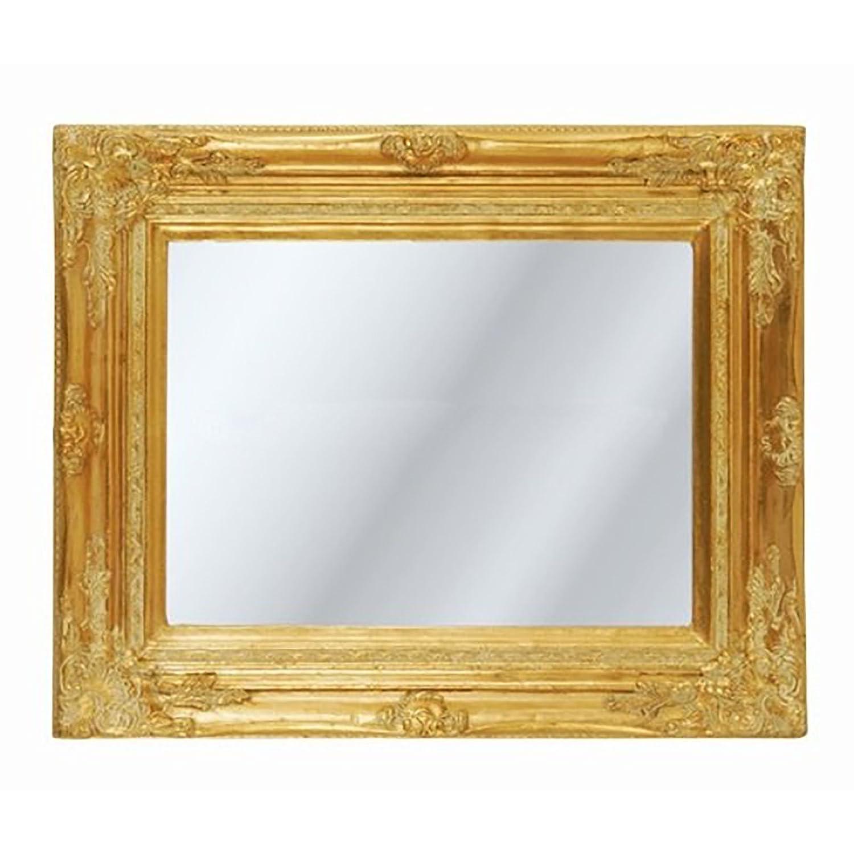 Baroque cadre miroir | antique or | miroir de style art nouveau ...