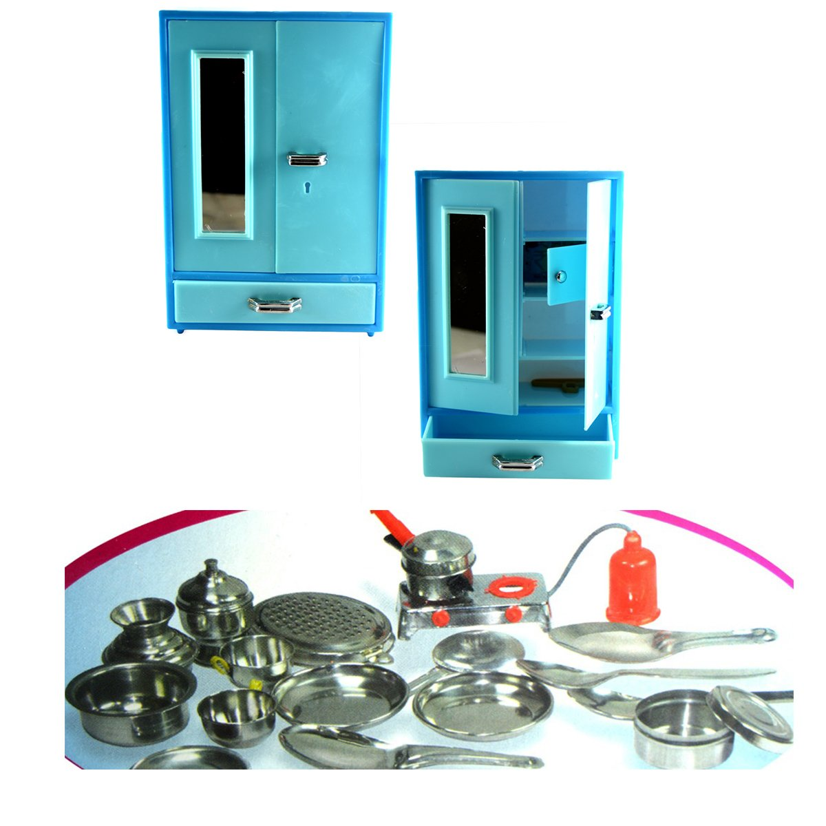 Buy sunny toyz Super Plastic Cupboard n Vessels Set Online at Low ...