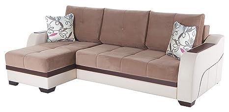 Amazon.com: ISTIKBAL Multifuncional Muebles Salón Seccional ...