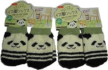 Cute Panda Furniture Chair Leg Socks Floor Protector 3.5