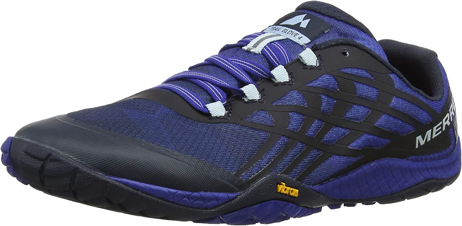 eb45cf01a66a1 Amazon.com | Merrell Men's Trail Glove 4 Blue Sport 7 M US | Trail ...
