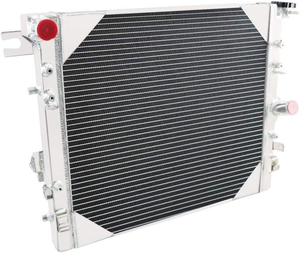 CoolingSky 3 Row All Aluminum Radiator for 2007-17 Jeep Wrangler JK 3.6L 3.8L V6
