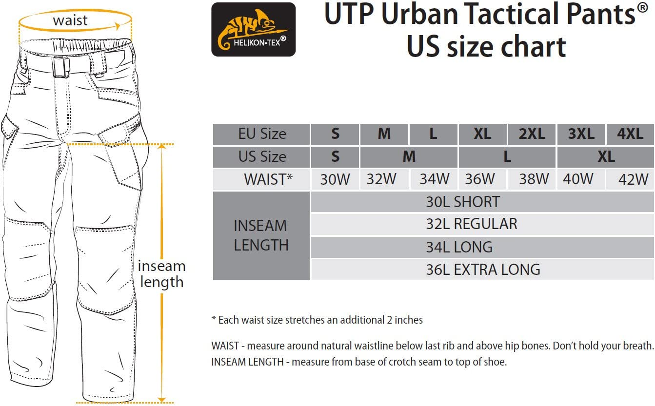UTP Urban Tactical Pants Poly Cotton Canvas Helikon-Tex Urban Line