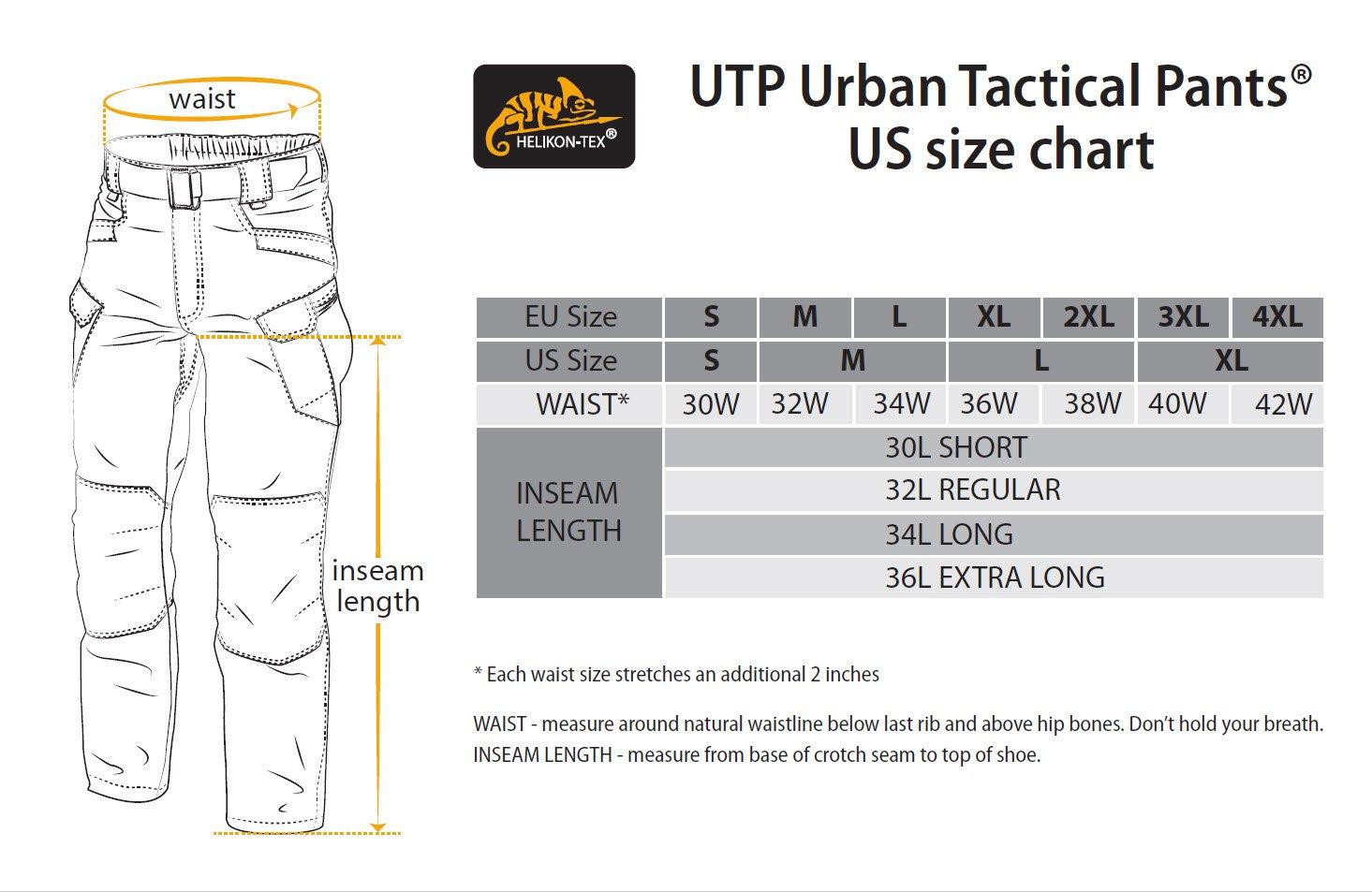 HELIKON-TEX Urban Line, UTP Urban Tactical Pants Ripstop Khaki, Military Ripstop Cargo Style, Men's Waist 38 Length 32 by HELIKON-TEX (Image #7)