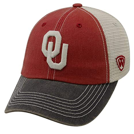 finest selection 51e2b 0d61d Image Unavailable. Image not available for. Color  Top of the World  Oklahoma Sooners Offroad Mesh Back Cap