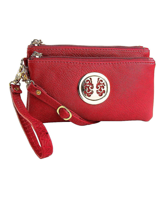 MKF Collection Handbags Natashe 3-in-1 Fashion Wristlet Lightweight Wallet Shoulder Bag for Women and Girls