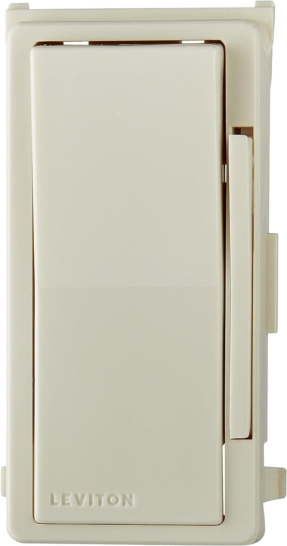 Leviton DDKIT-00T Decora Smart and Decora Digital Dimmer Face Plate Color Change Kit, Light Almond