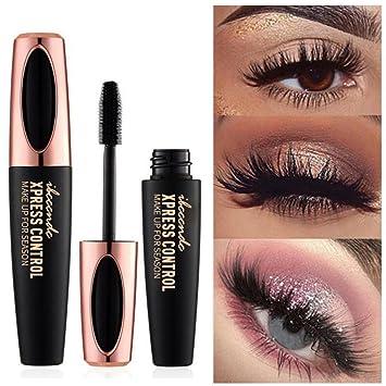1a353fc0850 ROMANTIC BEAR Magic 4D Silk Fiber Lash Mascara Waterproof Extension Thick  Curling Lengthening Eye Lashes Black