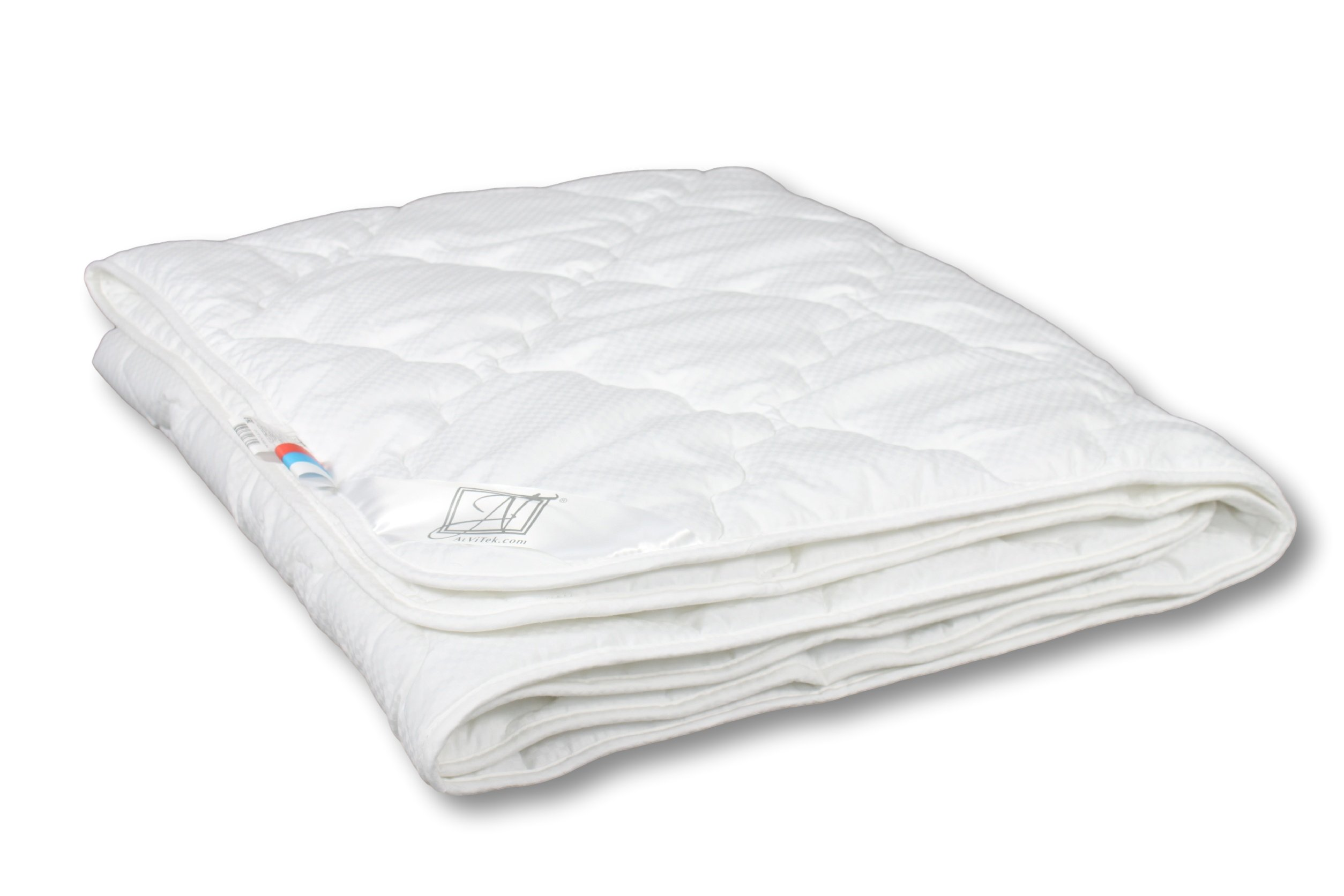 Smart And Cozy ADAGIO 100% Organic Comforter with Alternative Swans Down, Quilted, Lightweight (55''x81'')