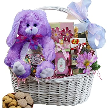 Amazon my special bunny easter gift basket purple grocery my special bunny easter gift basket purple negle Choice Image