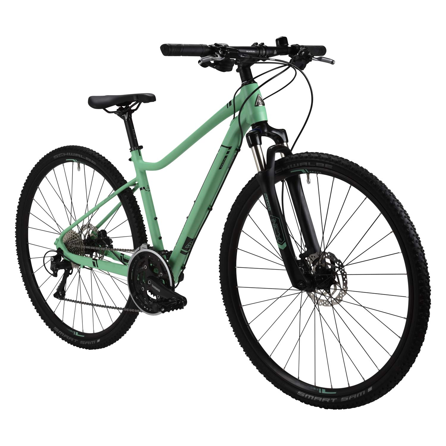 Marin San Anselmo ds4 Leレディーススポーツハイブリッドバイク – 2017パフォーマンスExclusive B06ZYLGBLN  TEAL BL 20