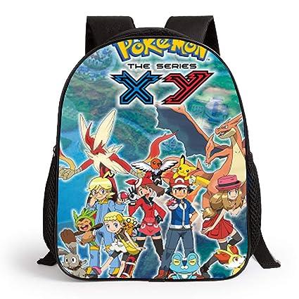 Mochila Pokemon Escolar, Mochila Pokemon Go Pikachu Squirtle Ash ...