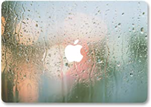 CIAOYE MacBook Air 13.3 Inch Decal Paster Vinyl Sticker Skin Anti-Scratch Removable Colorful Sticker Cover for Apple Macbook Air 13-Inch Model A1466 A1369 (Rainy 2)