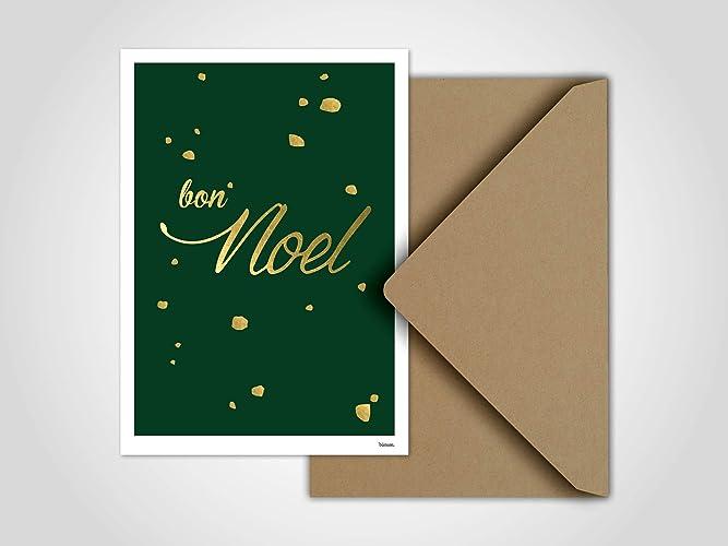 Tannenbaum Dxf.Bon Noel Weihnachtskarte Grußkarten Karten Weihnachten Schnee