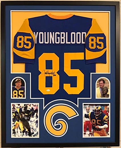 free shipping 24f65 ddeee FRAMED JACK YOUNGBLOOD AUTOGRAPHED SIGNED INSCRIBED L.A. ...