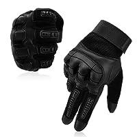 Vbiger Gants Tactiques Militaires Plein-doigt Unisexe Pour Combat Scooter Militaire Moto Paintball Cyclisme