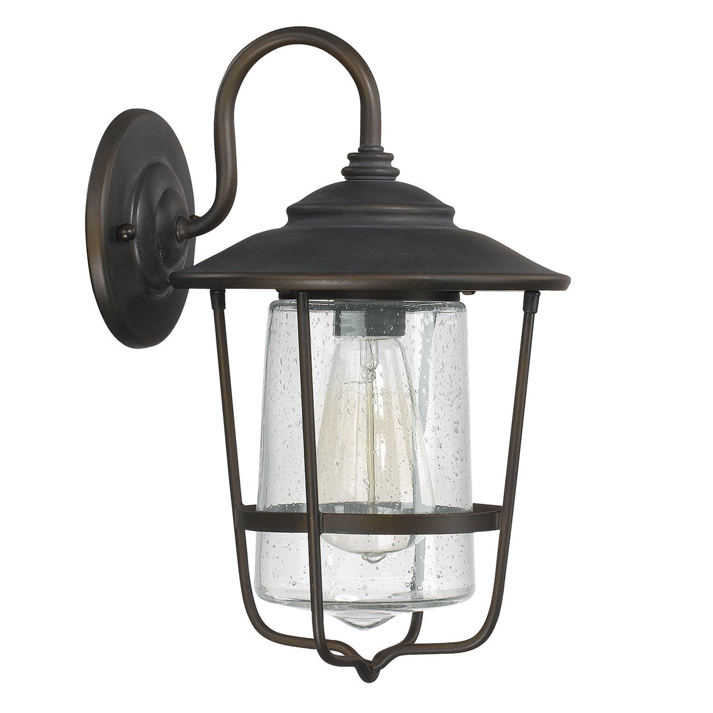 Capital Lighting 9601OB One Light Outdoor Wall Lantern