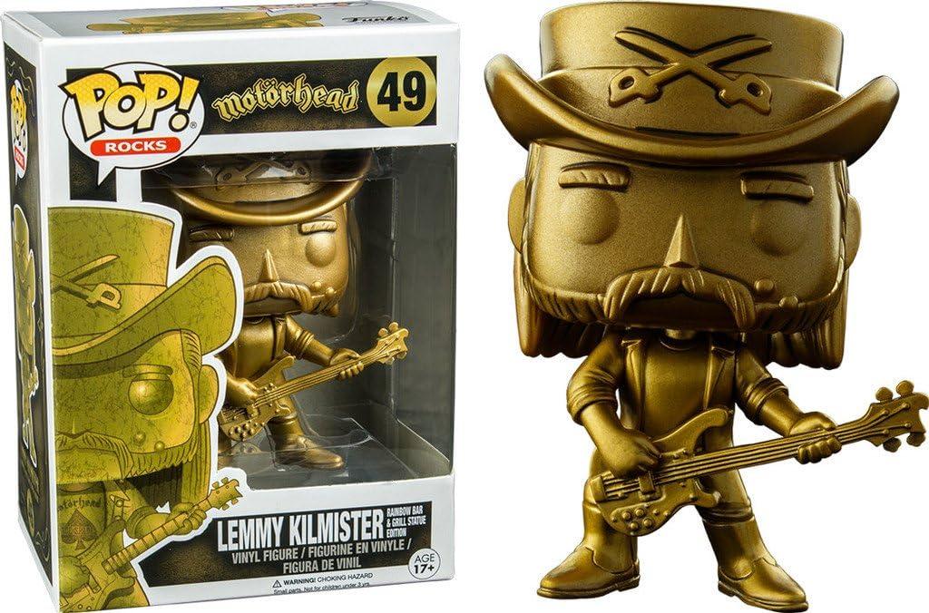 FUNKO POP Motorhead Lemmy Kilmister 49 Action Figure Nuovo Da Collezione Limited