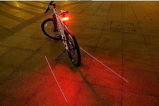 Beatease Piloto trasero de bicicleta piloto trasero de la ...