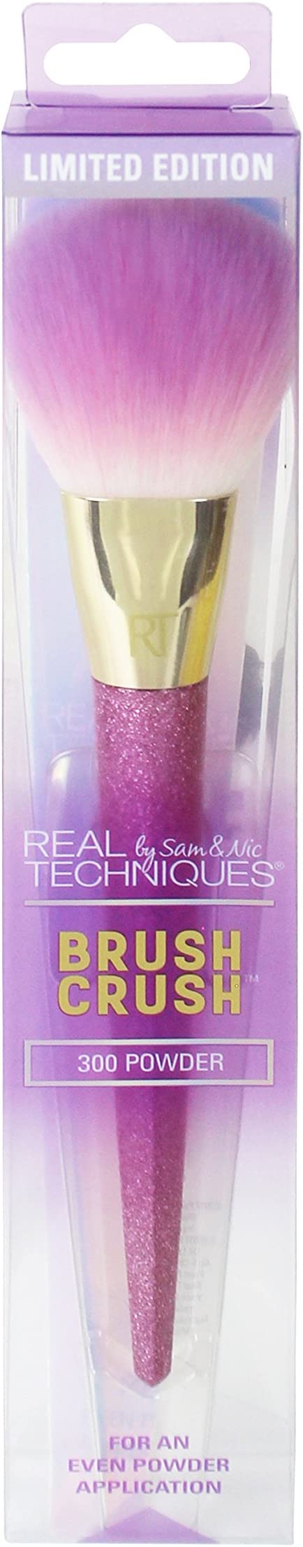 Real Techniques 300 Powder Brush Crush, Pack de 1: Amazon.es: Belleza