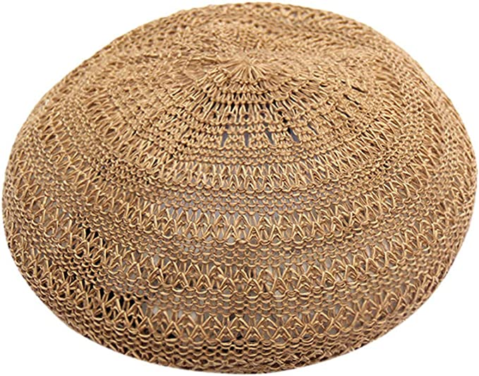 Reooly Boina británica roja Neta Salvaje ahuecada Sombrero de ...