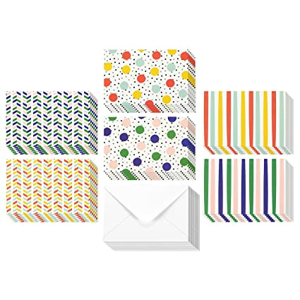 Amazon 36 pack all occasion assorted blank note cards greeting 36 pack all occasion assorted blank note cards greeting cards bulk box set 6 colorful m4hsunfo Gallery